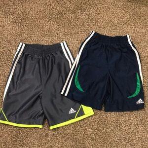 boys adidas athletic shorts bundle